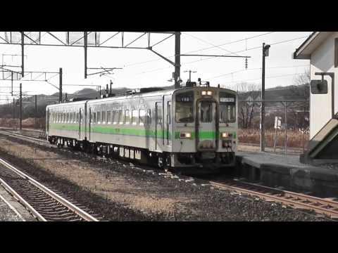 【キハ143系】JR北海道 ワンマン列車 液晶運賃表示機 JRHokkaido conductor-less car(Tomakomai→Aoba)posted by mmmlortab00