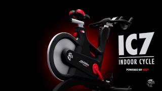 Life Fitness IC7 Powered by ICG - das IC7 Indoor Cycle vorgestellt