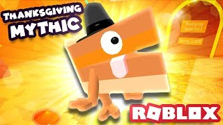 HUNTING ALL THE THANKSGIVING PETS! | Roblox Blob Simulator