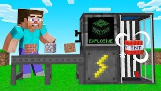 Turning SAFE BLOCKS Into DANGEROUS BLOCKS In Minecraft!