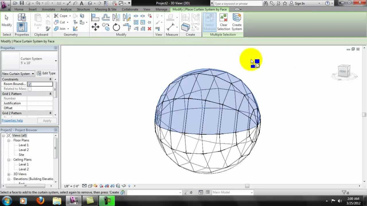 Autodesk Revit Focus Glass Dome Youtube