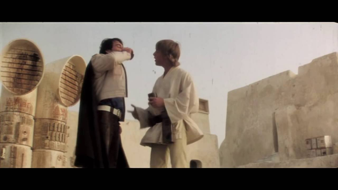 Star Wars A New Hope Deleted Scenes 1080p Hd Escenas Eliminadas Episodio Iv Youtube