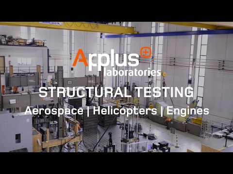Aerospace Structural Testing at Applus+ Laboratories