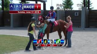Ajax Downs 06 17 2018 Race 1
