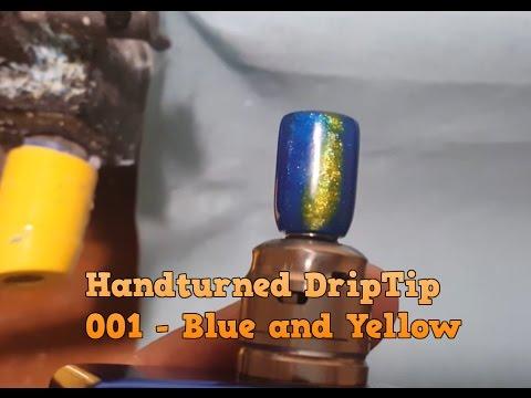 Turned Handmade Vaping Drip Tip - 001