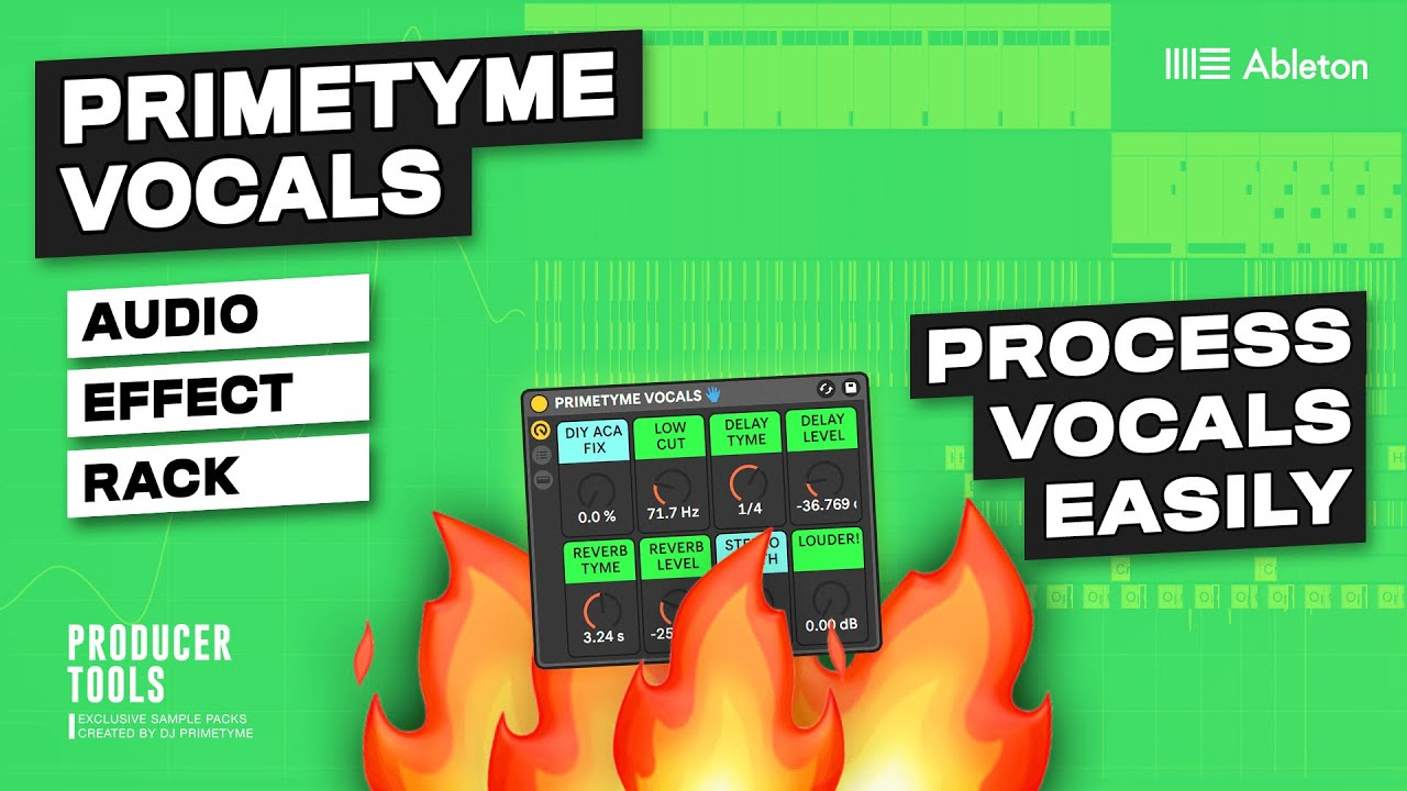 Remix Ableton Vocals With 1 Plugin - Primetyme Vocals
