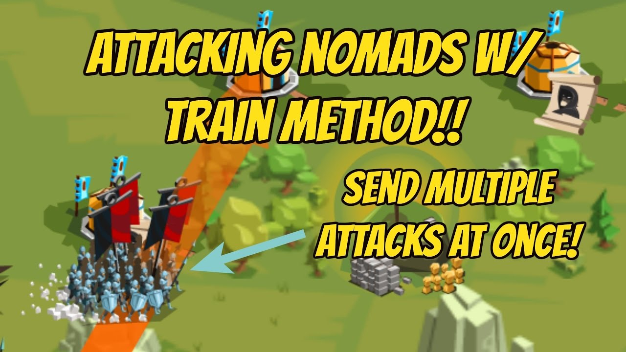 Attacking Nomads w/