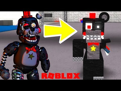 Creating Withered Animatronics In Roblox Animatronic World