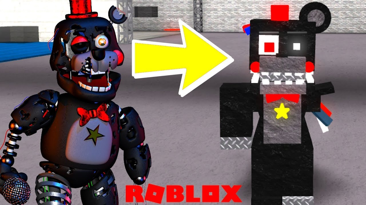 Creating Withered Animatronics in Roblox Animatronic World