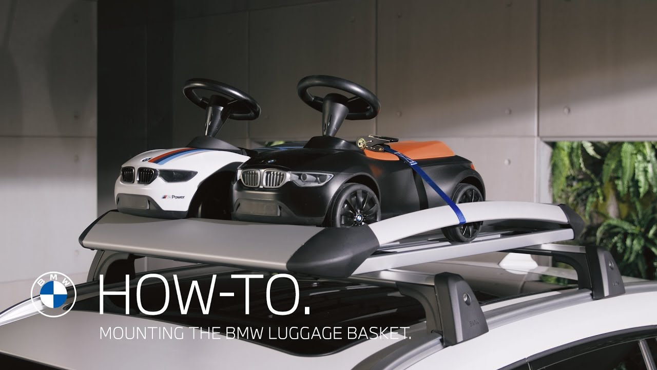 How to mount the BMW Luggage Basket | BMW How-To