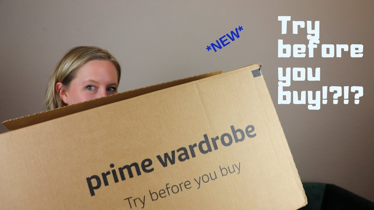 6f18d81ed36d  NEW  Amazon Prime Wardrobe Unboxing    Try On Clothes Before Buying!