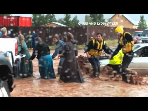 8 Dead, 5 Missing in Hildale, Utah Flash Floods
