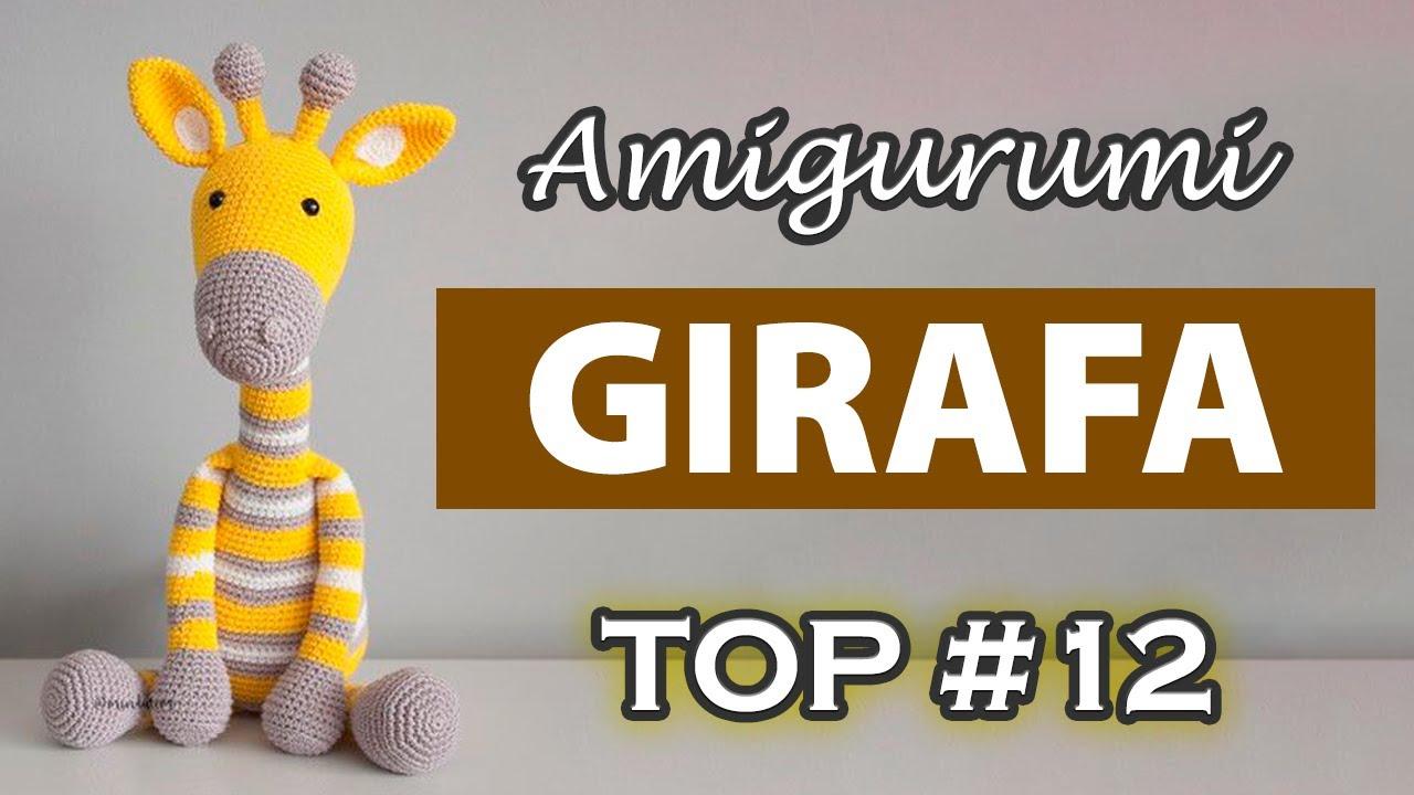 Girafa Receita de Amigurumi por Little Bear Crochets | 720x1280