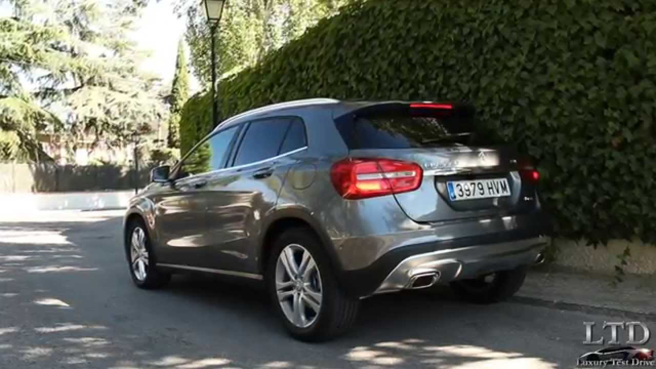 prueba mercedes benz clase gla 220 cdi 4matic 7g dct exhaust sound luxury test drive youtube. Black Bedroom Furniture Sets. Home Design Ideas