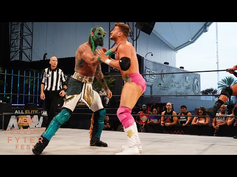 WAS MJF AND WARDLOW ABLE TO SLAY THE JURASSIC EXPRESS | FYTER FEST NIGHT 1, 7/1/20