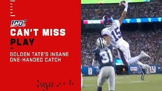 Golden Tate's OBJ Impression Is Absolutely Absurd!