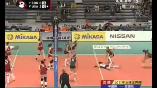 Wei Qiuyue's attack highlights 魏秋月精选二次球