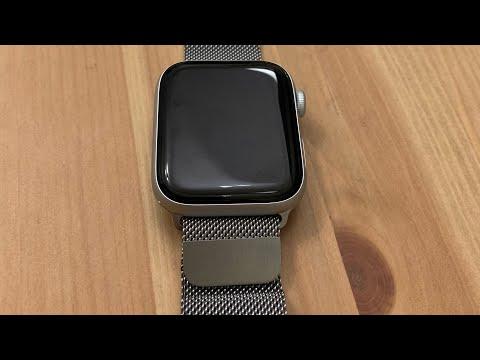 Распаковка Milanese Loop 42\44 Mm для Apple Watch Series 1.2.3.4 распаковка