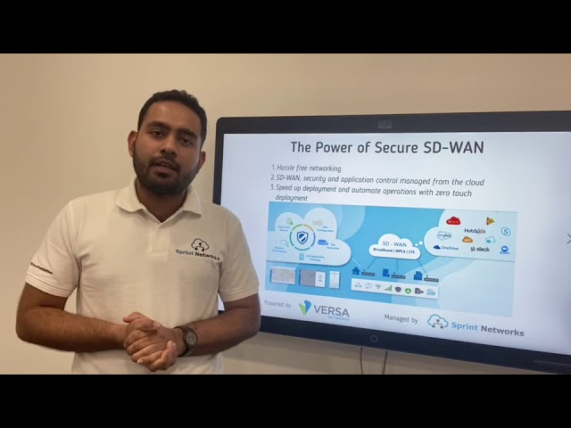 The Power of Secure SD-WAN