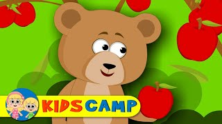 The Bear Went Over The Mountain | Nursery Rhymes | Popular Nursery Rhymes from Kidscamp