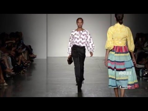 Live Aloha Fashion Show at HONOLULU Fashion Week 2015