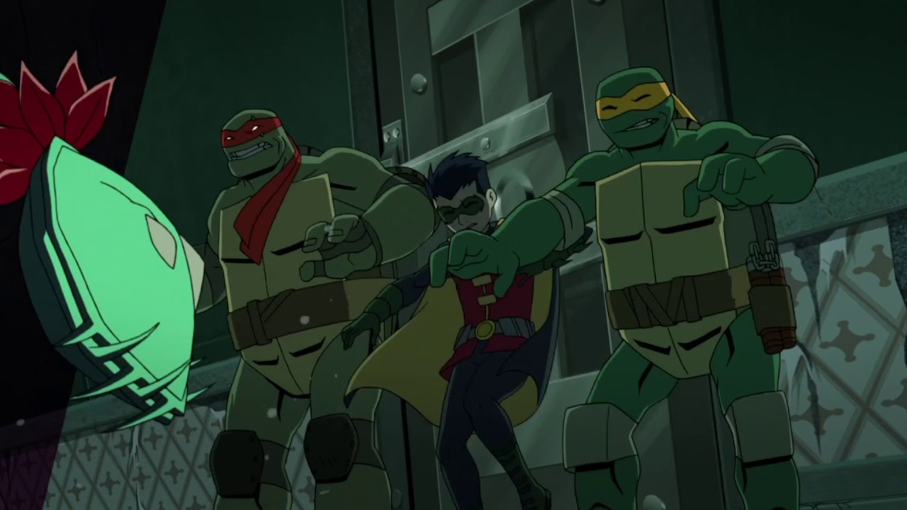 Trouble At Arkham Asylum Part 2 Batman Vs Teenage Mutant Ninja Turtles Youtube