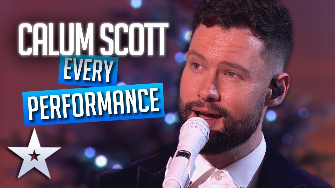 Download GOLDEN BOY Calum Scott - EVERY performance!   Britain's Got Talent