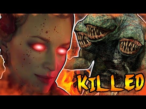 SHADOWS OF EVIL CHARACTERS KILLED BY THE APOTHICONS! Secret Portal Rift EasterEgg! BO3 Zombies Story