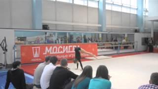 Спортивная гимнастика МГУ 2013 год.