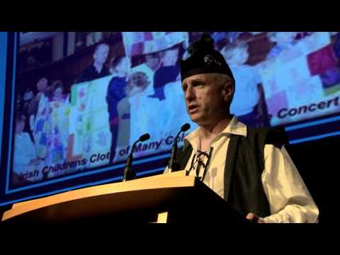 Sean M. Kelly - U.N. International Day of Peace, Dublin, Ireland - 21st September 2011