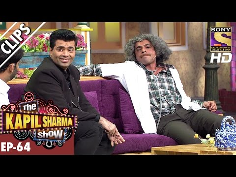 Dr. Mushoor Gulati meets Karan Johar - The Kapil Sharma Show 鈥� 3rd Dec 2016