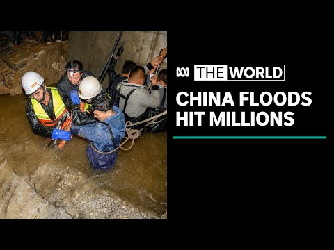 Millions hit by severe flooding in China | The World