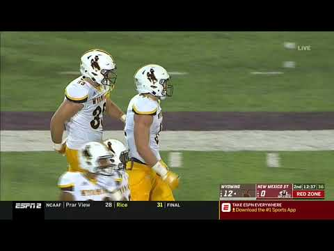 HIGHLIGHTS WEEK ZERO - Wyoming Cowboys at New Mexico State Aggies