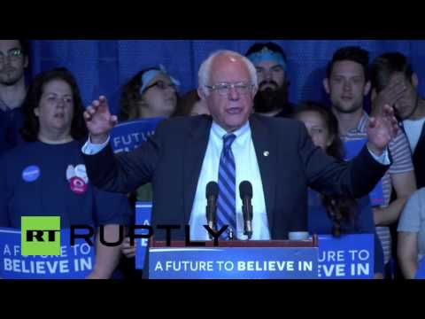 USA: Sanders criticises super delegate system ahead of Kentucky primary