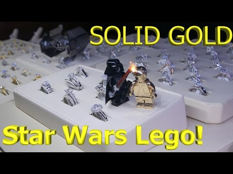 Lego Star Wars: Solid Gold Lego Vs. Darth Vader - Untold Han Solo Story