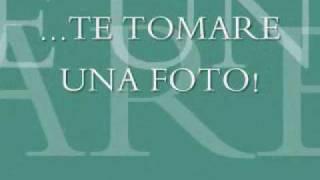 Te tomare una foto de Tiziano Ferro (Subtitulado)
