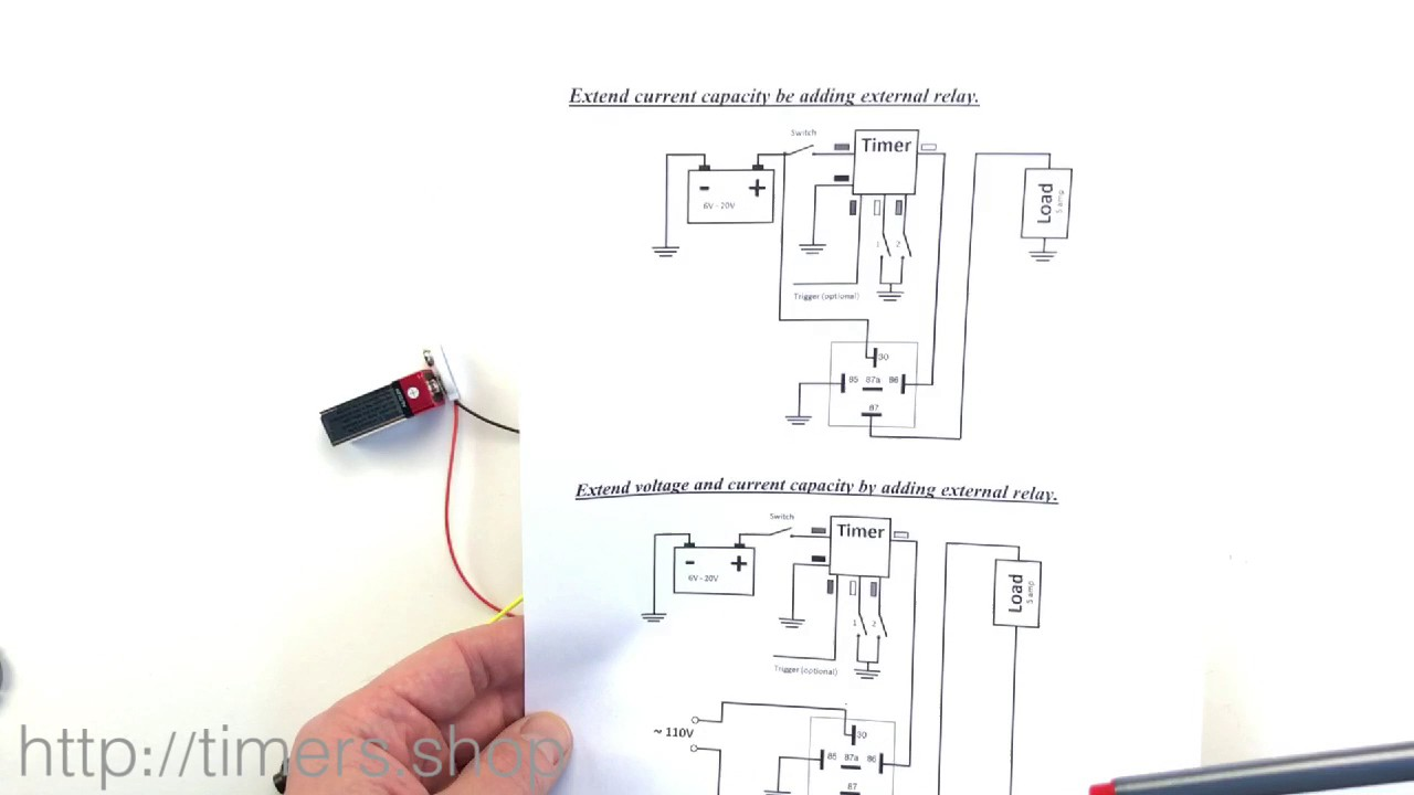Ignition Timer Circuit Diagram