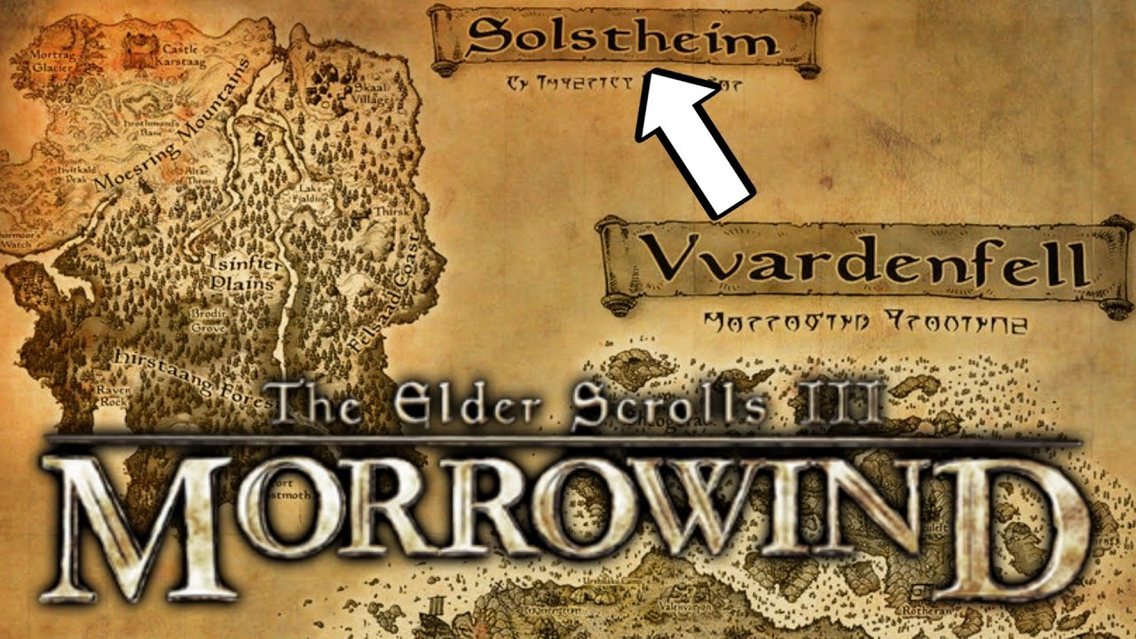 Morrowind - Swimming from Vvanderfell to Solstheim