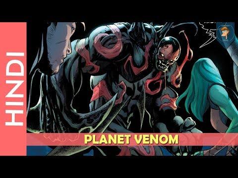 PLANET VENOM Complete Story Explain In HINDIMarvel Comics In Hindi  cartoon freaks