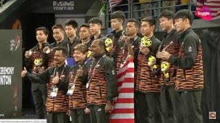 Badminton 29th SEAG Kuala Lumpur 2017 - Indonesia vs Malaysia Men Team Final