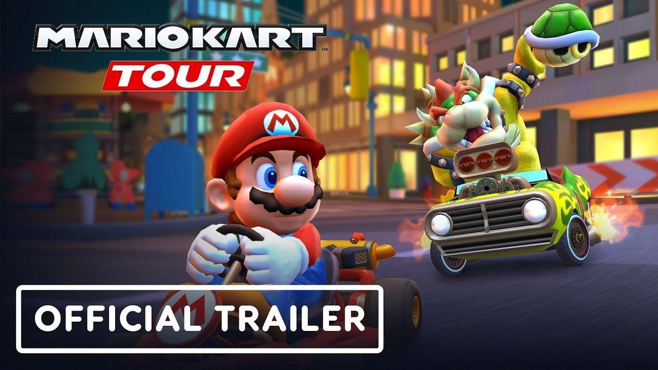 Mario Kart Tour – Tráiler de lanzamiento