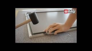 Videonávod na sestavení okenní sítě proti hmyzu