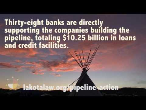 Defund DAPL: Divest from banks funding the pipeline