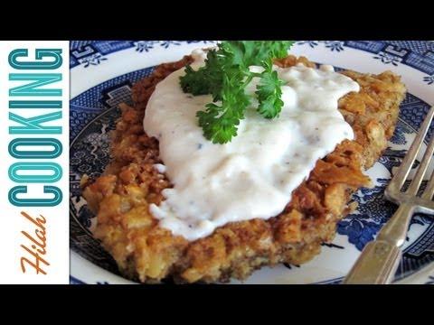 How To Make Chicken Fried Steak - The BEST Chicken Fried Steak Recipe | Hilah Cooking