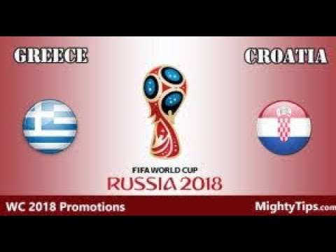 Greece Vs Croatia World Cup Qualifying  2018 Second Leg