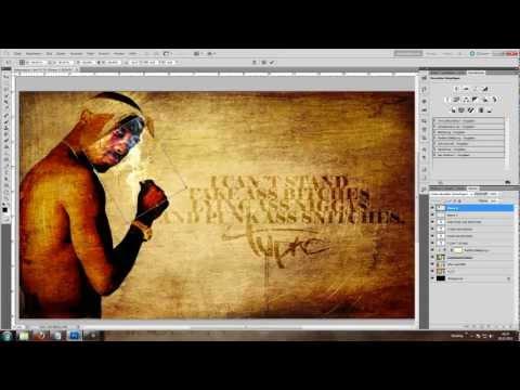 Speed Art | 2PAC | Wallpaper (Still Alive 2)