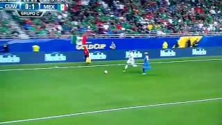 Mexico vs Curacao Gold Cup 2017