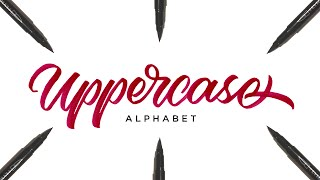 Hand Lettering Tutorial for Beginners | Uppercase Alphabet