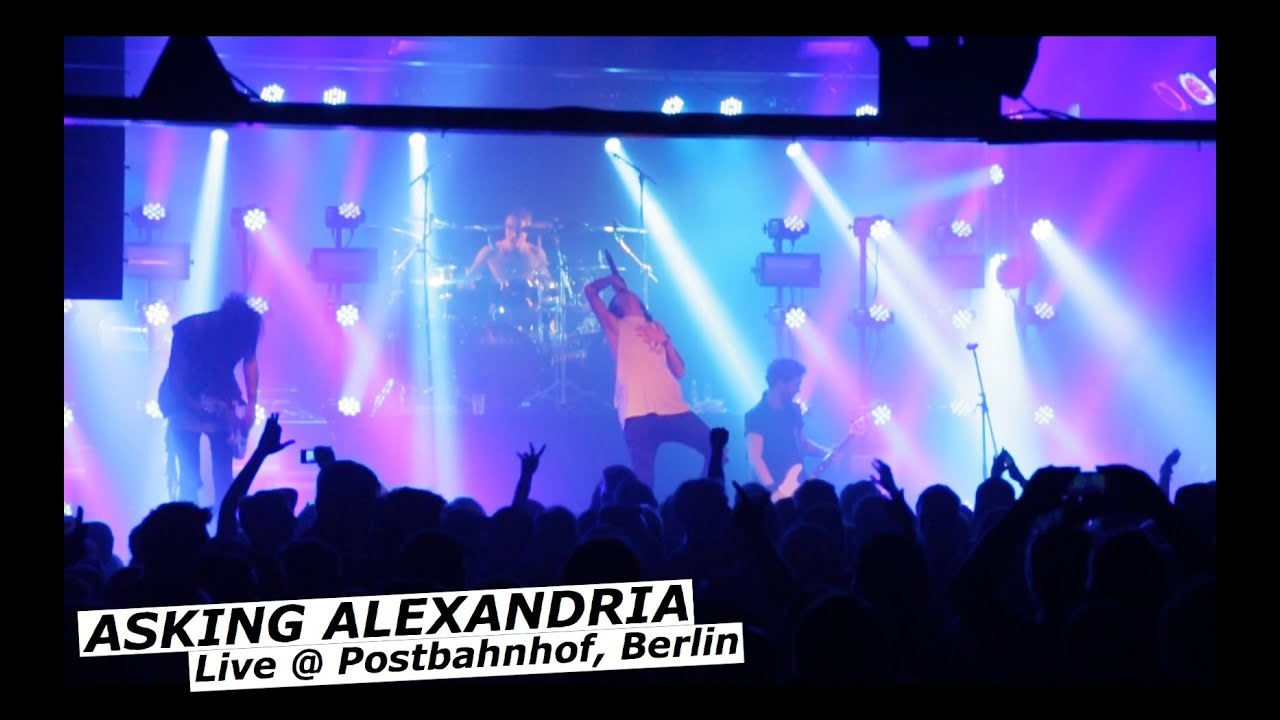 ASKING ALEXANDRIA - Live @ Postbahnhof, Berlin 2015 [Wall Of Death]