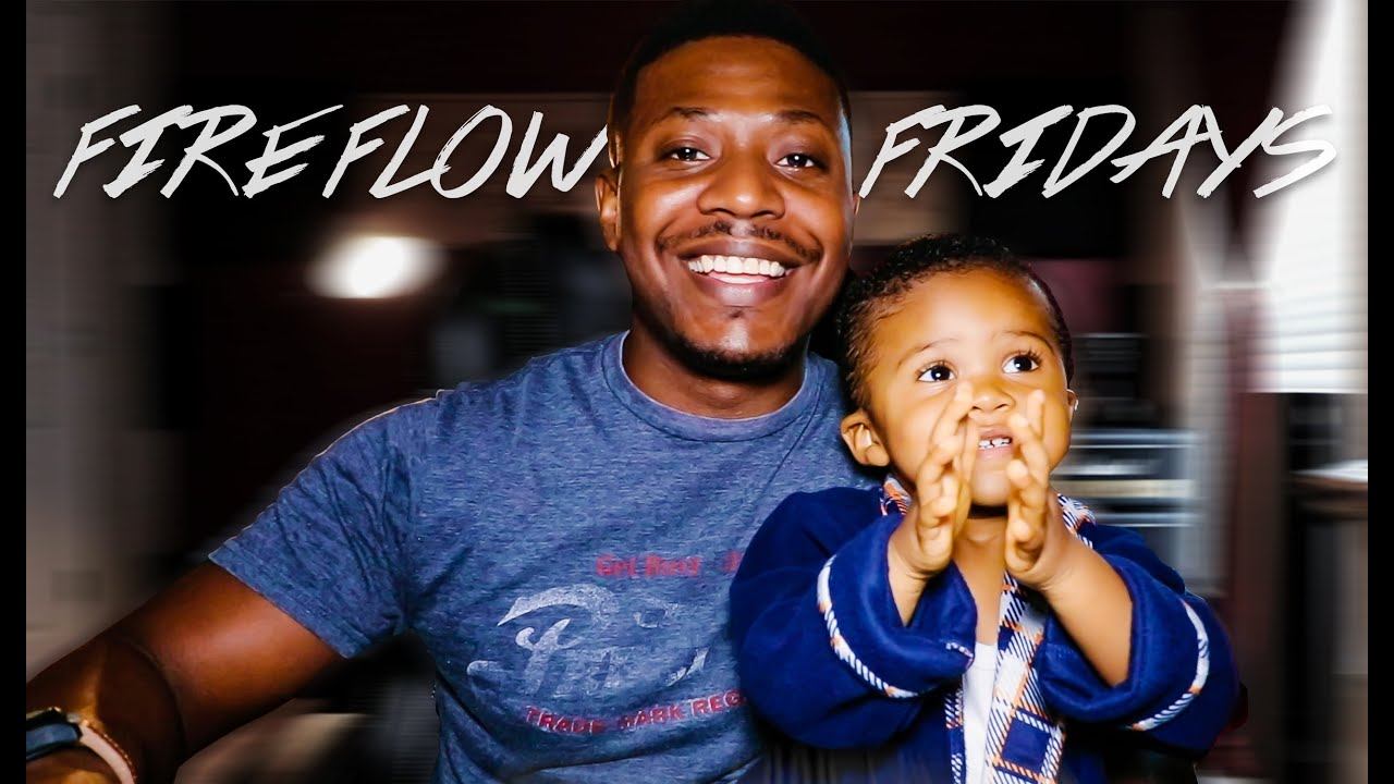 EDVANZD - Baby makes dope beat while dad raps! AMAZING!!! Fire Flow Fridays #26 #Freestyle